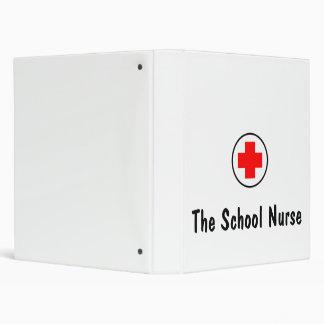 the school nurse 3 ring binder