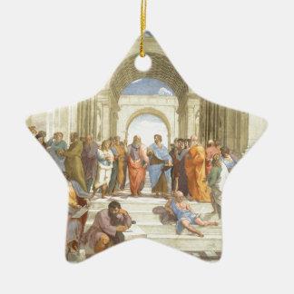 The School of Athens Ceramic Ornament