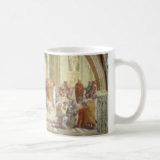 The School of Athens Fresco by Raffaello Sanzio Coffee Mug