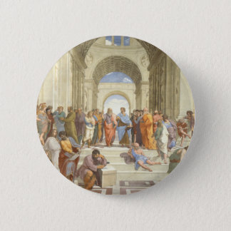 The School of Athens Pinback Button
