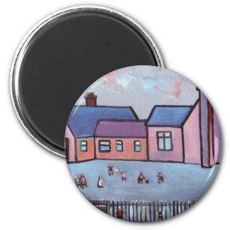 THE SCHOOL PLAYGROUND MAGNET