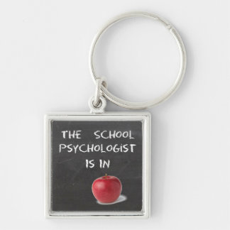 The School Psychologist Is In Key Chain