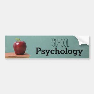 The School Psychology Bumper Sticker