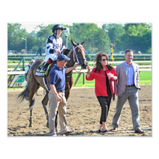 """The Schuylerville Stakes """"Brazen Persausion"""" Photograph"""