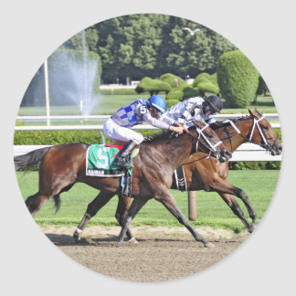 The Schuylerville Stakes Classic Round Sticker