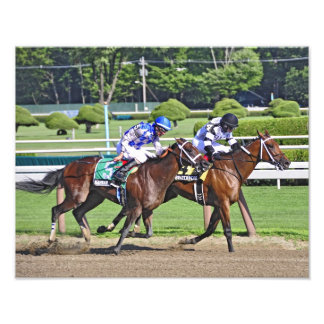 """The Schuylerville Stakes """"Dead Heat"""" Photograph"""