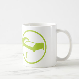 """The """"science deprives me of my bed"""" badge LEVEL I Coffee Mug"""