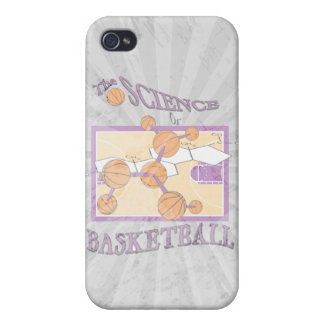the science of basketball iPhone 4/4S cases
