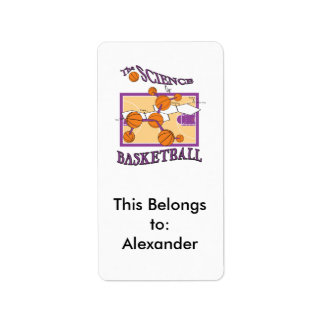 the science of basketball label