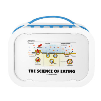 The Science Of Eating (Endocytosis Biology Humor) Lunch Box