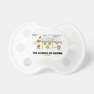 The Science Of Eating (Endocytosis Biology Humor) Pacifier
