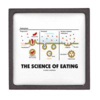 The Science Of Eating (Endocytosis Biology Humor) Premium Keepsake Boxes