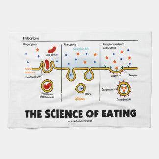 The Science Of Eating (Endocytosis Biology Humor) Towel
