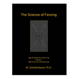 The Science of Fencing Postcard