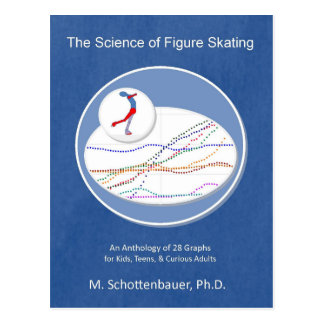 The Science of Figure Skating Anthology of Graphs Postcard