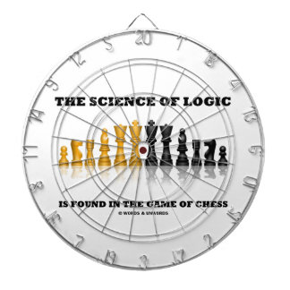 The Science Of Logic Is Found In The Game Of Chess Dartboard With Darts