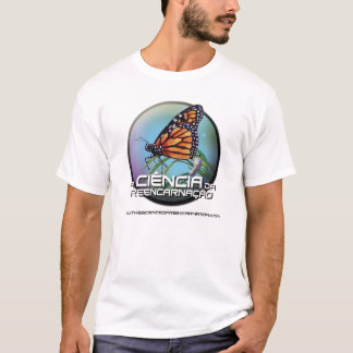 The science of reincarnation in portugese T-Shirt