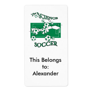 the science of soccer label