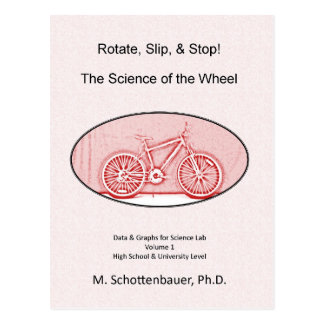 The Science of the Wheel Postcard