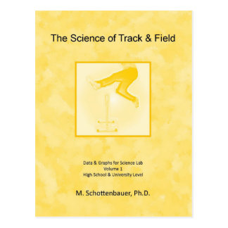 The Science of Track & Field Postcard