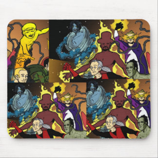 The Scientist  and The Space Invaders Mousepads