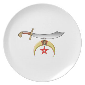 The Scimitar and Claws Dinner Plate