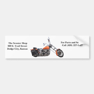 The Scooter Shop Bumper Sticker