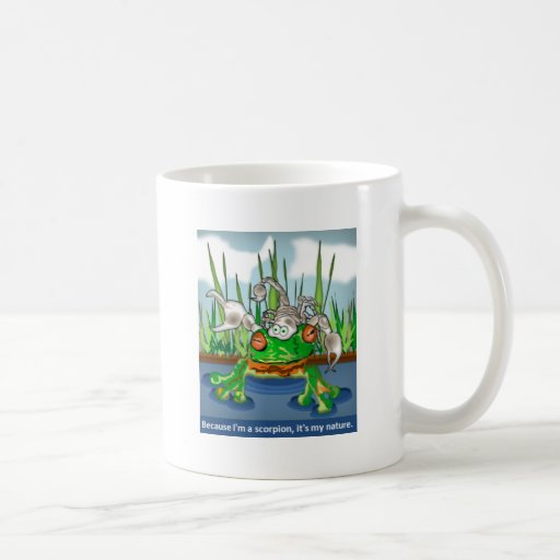 The Scorpion and the Frog Coffee Mug