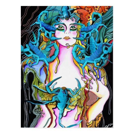 The Scorpion Woman Postcard
