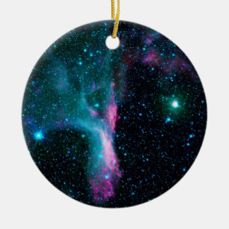 The Scorpion's Claw Reflecting Nebula DG 129 Ceramic Ornament