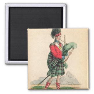 The Scotch Piper Magnet