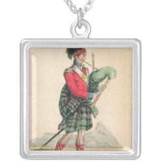 The Scotch Piper Silver Plated Necklace