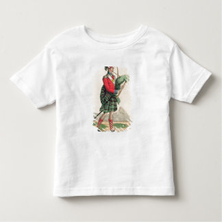 The Scotch Piper Toddler T-shirt