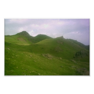 The Scotish Highlands - light version Posters