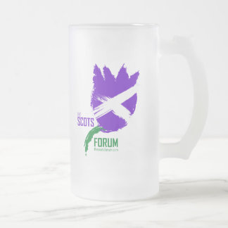 The Scots Forum Frosted Mug