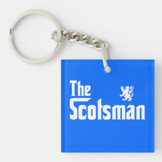 The Scotsman Keychain