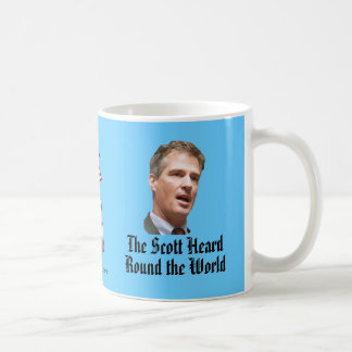 The Scott Heard Round the World Classic White Coffee Mug