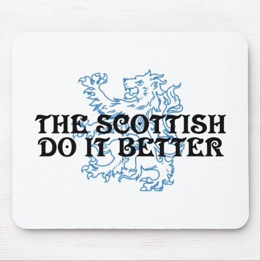 The Scottish Do It Better Mousepad