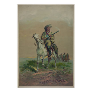 The Scout Buffalo Bill [1872to1890?] Poster