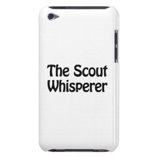the scout whisperer iPod touch Case-Mate case