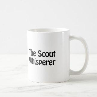 the scout whisperer coffee mug