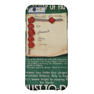 The 'Scrap of Paper'_Propaganda Poster Barely There iPhone 6 Case
