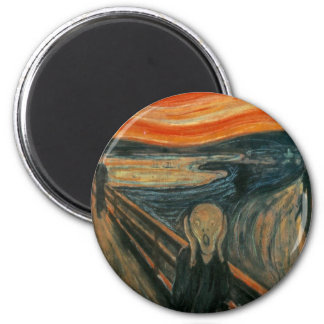 The Scream 2 Inch Round Magnet