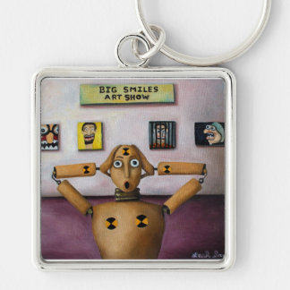 The Scream At The Big Smiles Art Show Keychains