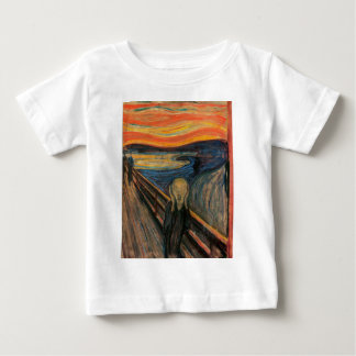 The Scream by Edvard Munch Baby T-Shirt