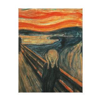 The Scream by Edvard Munch Canvas Print