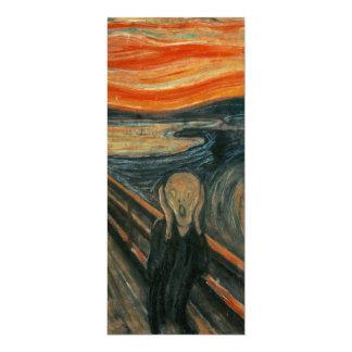 The Scream by Edvard Munch Card