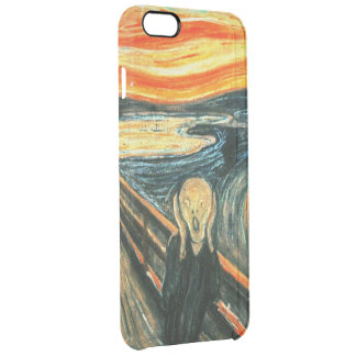 The Scream by Edvard Munch Clear iPhone 6 Plus Case