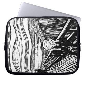 The Scream by Edvard Munch Computer Sleeve