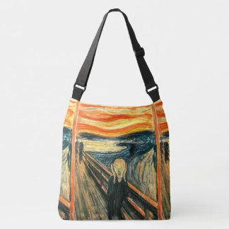 The Scream by Edvard Munch Crossbody Bag